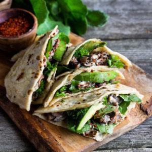sauteed_mushroom_avocado_quesadillas_dreamyleaf_vegan_recipes_meatlovers_lifesum