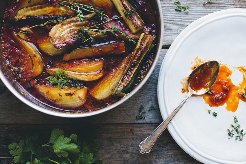 Braised Fennel with Saffron + Tomato lifesum