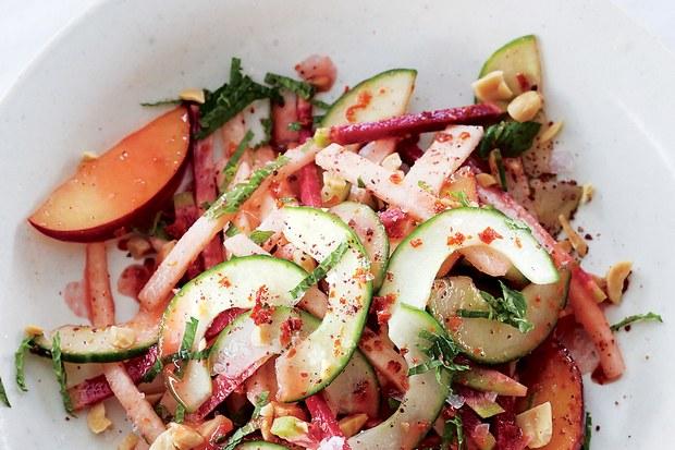 Jicama, Radish, + Pickled Plum Salad lifesum