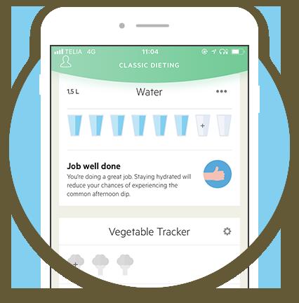 Lifesum water tracker